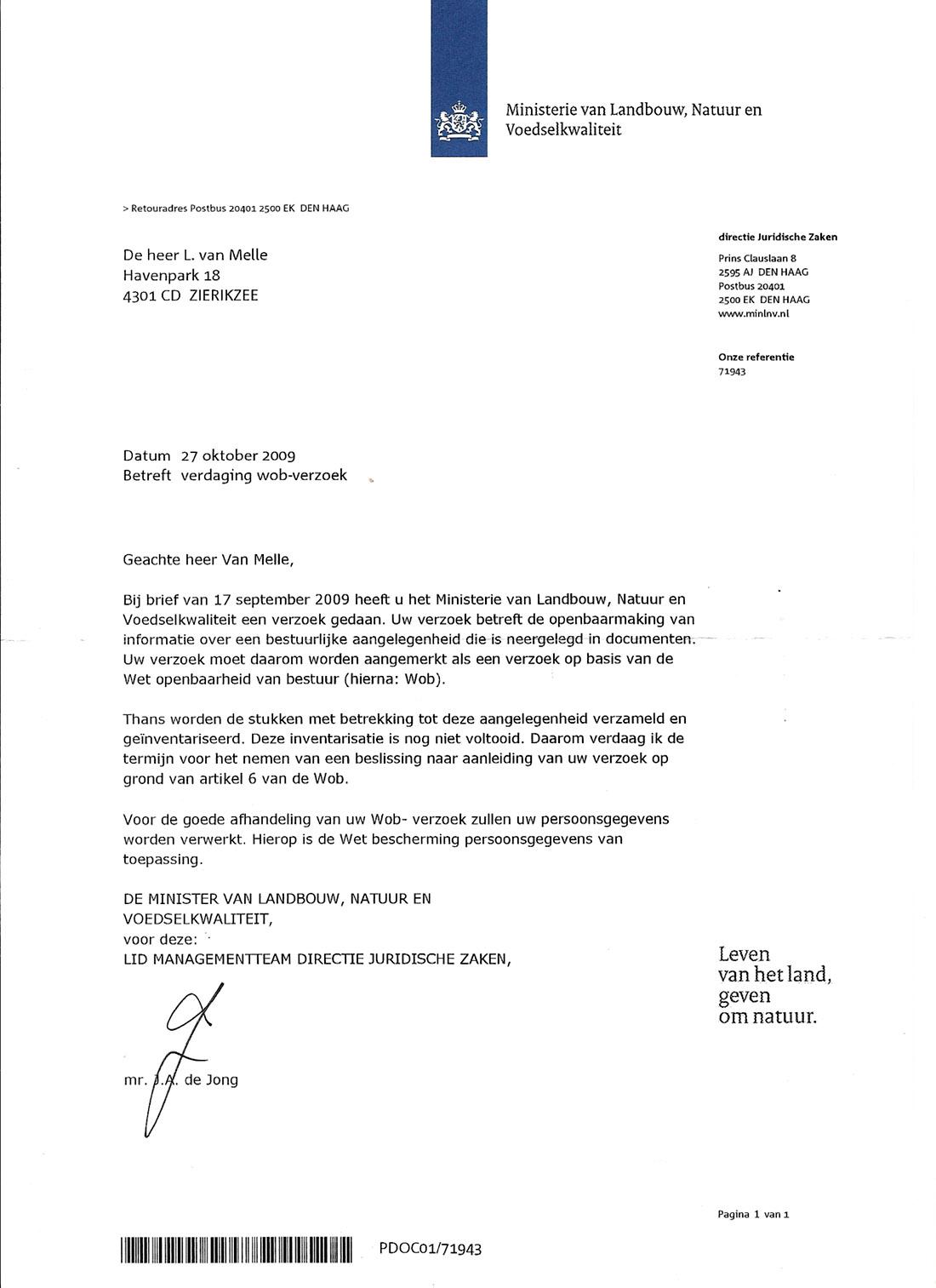 voorbeeldbrief verzoek om informatie Verzoek kopieonderzoeksopdracht consortium voorbeeldbrief verzoek om informatie